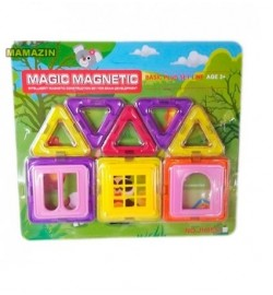 Конструктор магнитный MAGIC MAGNETIC JH8851D 8дет.кор.21,5*1,5*19 /108/