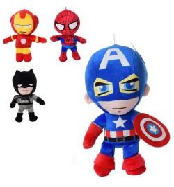 Мягкая игрушка MP 2011 (48шт) супергерой 20см, размер средний, на присоске, 4вида(AV-3вида,BM)