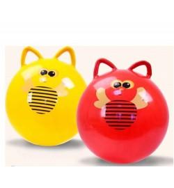 Мяч 50см роги BT-PB-0084 с пчелками 400г 4цв.ш.к./60/ фитнес прыгун