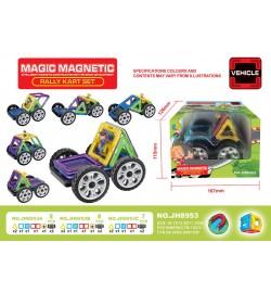 Конструктор магнитный MAGIC MAGNETIC JH8953A 8дет.кор.16,7*11,5*12,6 /120/