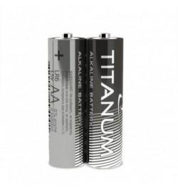 Батарейка Titanum LR6, АА, трей 2/40/720 цена за 2шт