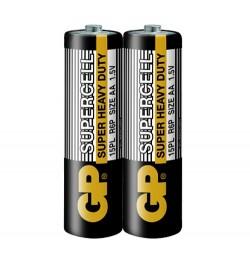 Батарейка  GP 15PL-S2 Supercell R6, АА, трей 2/40/200/1000 цена за 2шт
