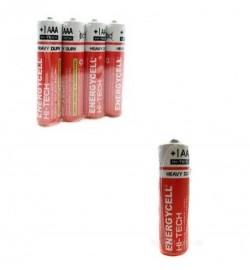 Батарейка Energycell HI-TECH Р6, АА, 4шт трей  4/40/1200 цена за 4шт