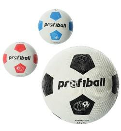 Мяч футбольный VA 0013 Official (50шт) резина, размер 5, Grain