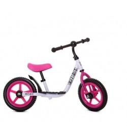 Беговел детский PROFI KIDS 12 д. M 4067-5 (1шт) кол EVA,пласт.обод,подножка,крыло,розовый
