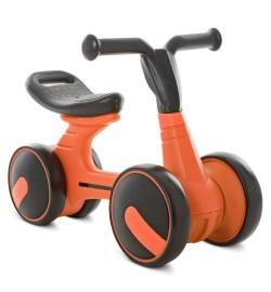 Беговел детский PROFI KIDS 7д. М 5449-5 (1шт) кол PU, пласт.,сиденье с ручкой,оранжевый