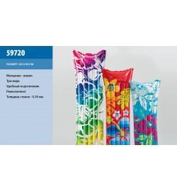 Матрац 59720 (24шт) 3 цвета 183-69 см