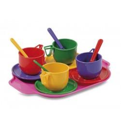 Набор посуды с подносом 13эл