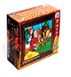 Пазлы 80эл16шт в блоке 5 блоков в упаковке 80шт