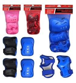 Защита MS 0338 (50шт) для роликов, 4 цвета, в сетке, 20-31см