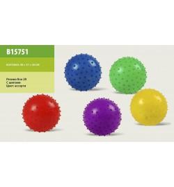 Мяч B15751 (700шт) с шипами,резиновый 8см 28гр