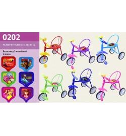 Велосипед 3-х колес 0202 (6шт)