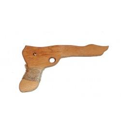 Деревянный пистолет из бука 23см