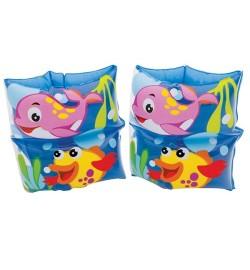 Нарукавник 59650 (36шт) рыбка, 19-19см, 3-6лет, 2шт в кульке, 16-25-1см
