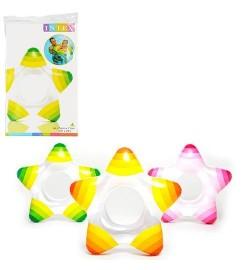 Круг 59243 (36шт) в форме звезды, 74-71см, 3 цвета, в кульке, 15,5-25см