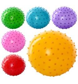 Мяч массажный MS 0022 (800шт) 4 дюйма, ПВХ, 25г, 6 цветов
