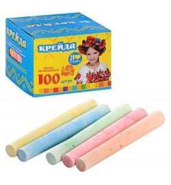 Мел MK 0094 (60шт) 100 шт, цветной, в кор-ке, 10-10-7,5см