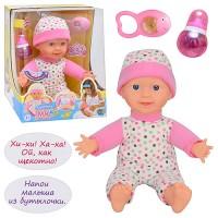 Кукла-пупс 5316 (6шт) ,сенсорный,смеется,бутылочка,погрем,звук(рус),на бат-ке,в кор-ке,30,5-25,5-23с