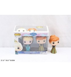 Герои BX6016A (72шт/3) Эльза и Анна, в коробке 21*16*9см кукла холодное сердце