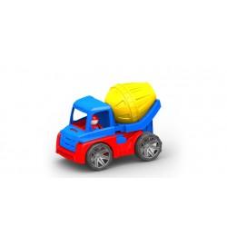 Автомобиль М4 бетономешалка,машинка 270*160*185 мм кол. в уп.20шт
