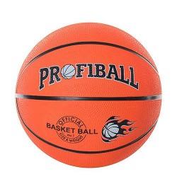 Мяч баскетбольный PROFIBALL VA 0001 (40шт) размер7,резина,8панелей,рисунок-печать,530-550г,