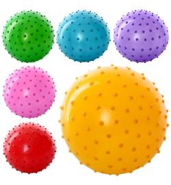 Мяч массажный MS 0022 (250шт) 4 дюйма, ПВХ, 25г, 6 цветов