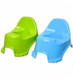 Горшок  детский зеленый, синий технок