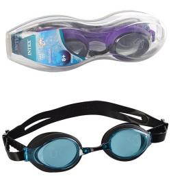 55691 очки для плавания от 8лет 3цв. /12/