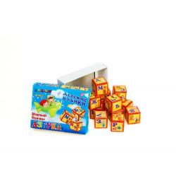 Кубики 12 пластмассовые Азбука, арт. 314