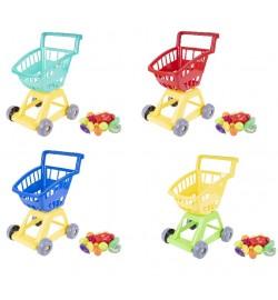 Тележка с овощами супермаркет 370*310*470 мм кол. в уп.10шт