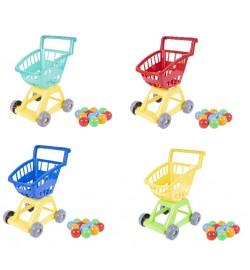Тележка с шариками супермаркет 370*310*470 мм кол. в уп.10шт
