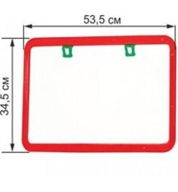 Доска для рисования, 2-х сторон., мел, маркер (5шт/уп) мольберт