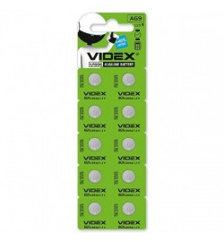 Батарейка годин Videx AG9 / LR936 BLISTER CARD 10 pcs, ціна за 10шт.