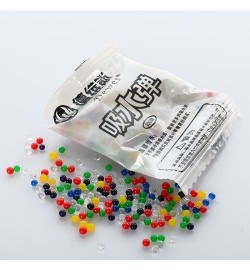 Водяные пульки E12614 (10000шт) 200шт в кульке, 5,5-4см,