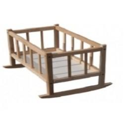 Кроватка для кукол 25*45*35смм(разобранная) БУК