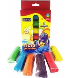 Набір для ліплення ОКТО Асорті 6 кольорів тесто