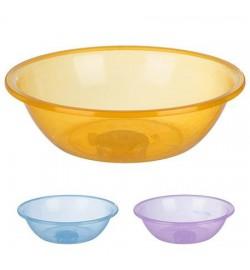 Миска пластиковая прозрачная круглая 2,0л PT-83351 (80шт)