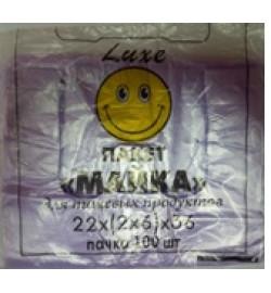 Пакет майка 22*36  (100 шт)