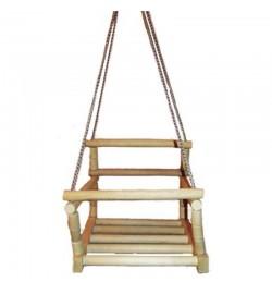 Качеля  деревянная