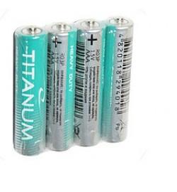 Батарейка Titanum Р6, АА, трей 4/40/960 (24083) ціна за 4 шт. пальчик