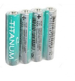 Батарейка . Titanum Р6, АА, трей 4/40/960 (24083) цена за 4 шт.