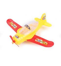 Літак 520-15 (240шт) 20см, 2цвета, в кульку, 20-14-6см