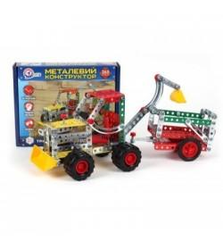 Конструктор металический  «Трактор з причепом ТехноК», арт. 4876 (10шт)