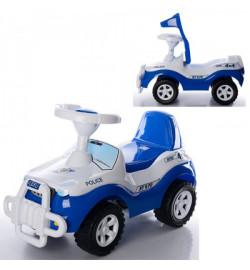 Джипик (О) синий ,толокар 610x380x360 мм