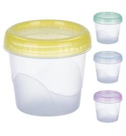 Контейнер пластиковий для харчових продуктів 350мл круглий PT-83474 (200шт)