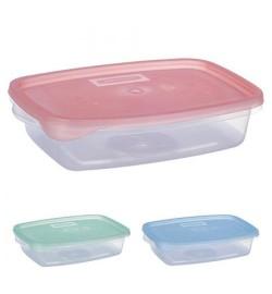 Контейнер пластиковий для харчових продуктів 700мл прямокутний PT-82408 (100шт)