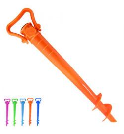 Бур для пляжного парасольки пластик мікс 39см R83138 (60шт)