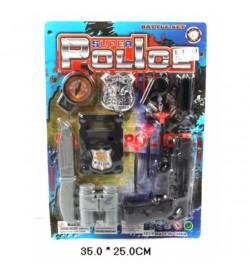 Поліцейський набір 581-6 лист 25 * 35 Ш.К. / 180 /