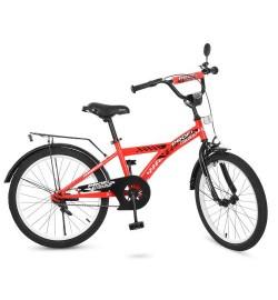 Велосипед детский PROF1 20д. T2031 (1шт) Racer,красный,звонок,подножка