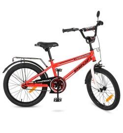 Велосипед детский PROF1 20д. T2075 (1шт) Forward,красный,звонок,подножка